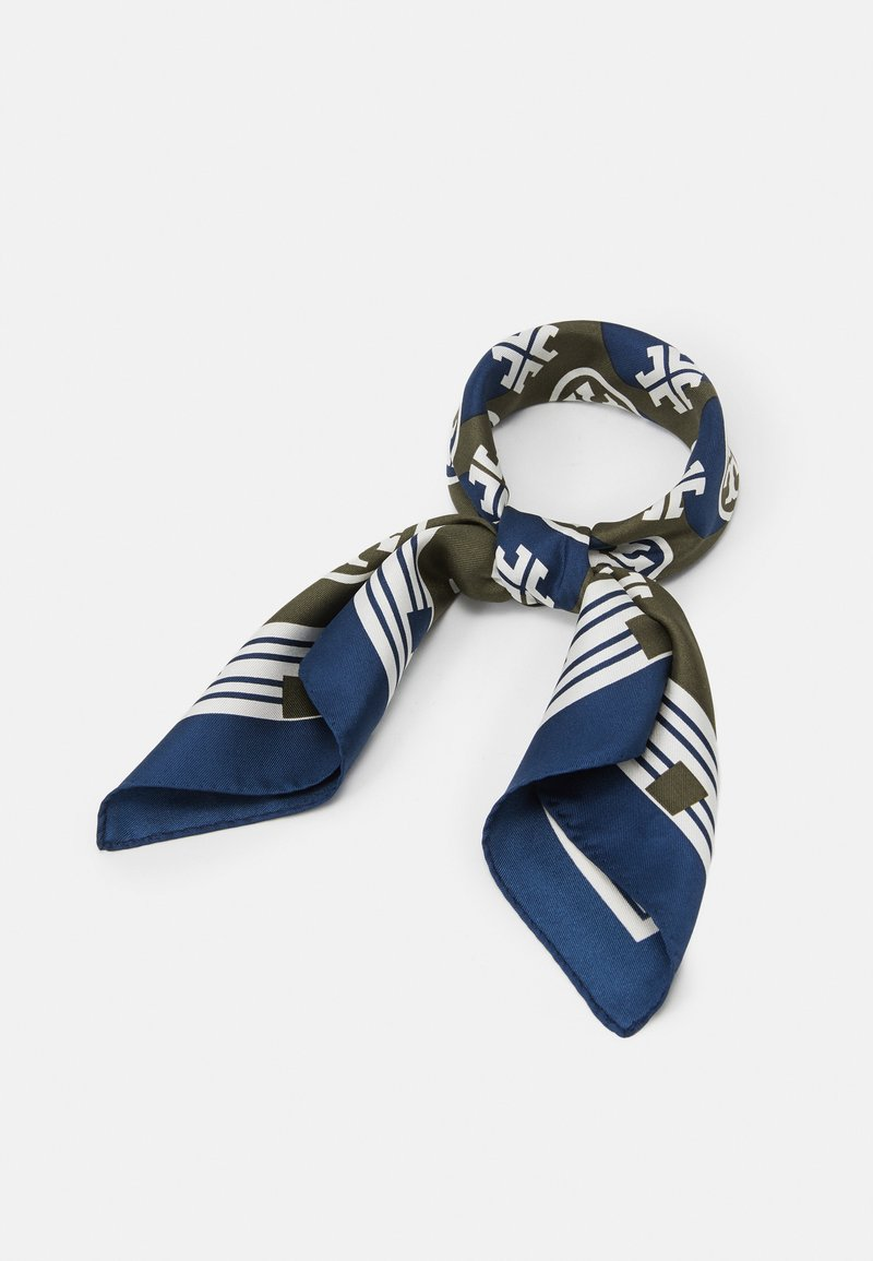 Tory Burch - LOGO GEO NECKERCHIEF - Foulard - alpine green