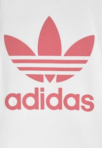 adidas Originals - TREFOIL - Print T-shirt - white/hazy rose - 2
