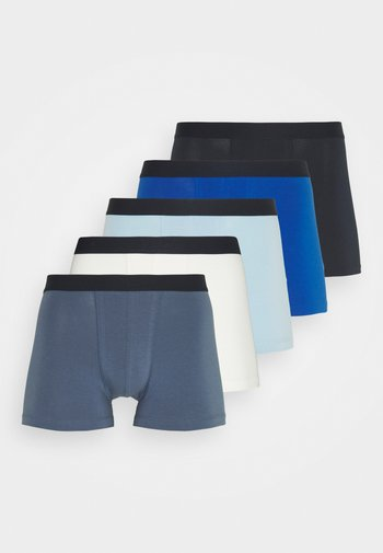 5 PACK - Pants - dark blue/blue/off-white