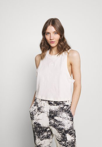 CROPPED TANK - Top - off-white