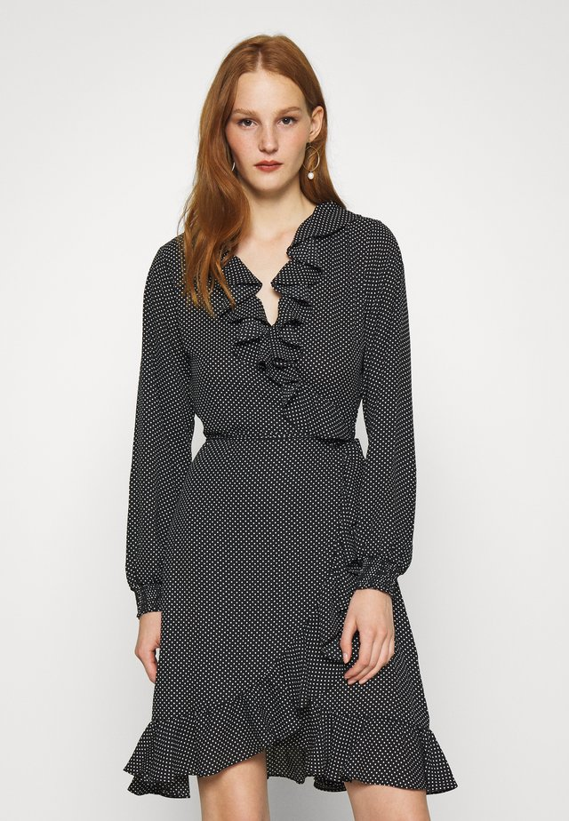 NIRO WRAP DRESS - Vardagsklänning - black