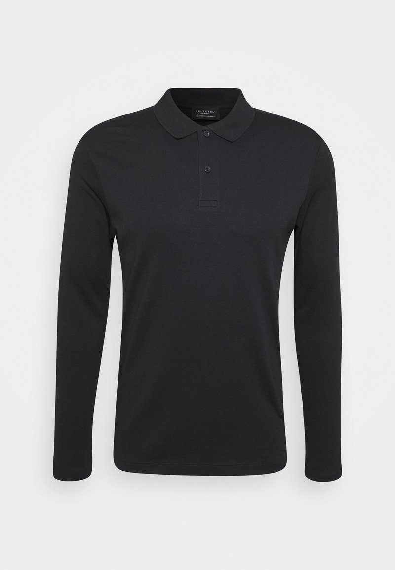 Selected Homme - SLHPARIS  - Poloshirts - black