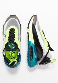 Nike Sportswear - AIR MAX 2090 - Trainers - white/black/volt/valerian blue - 3