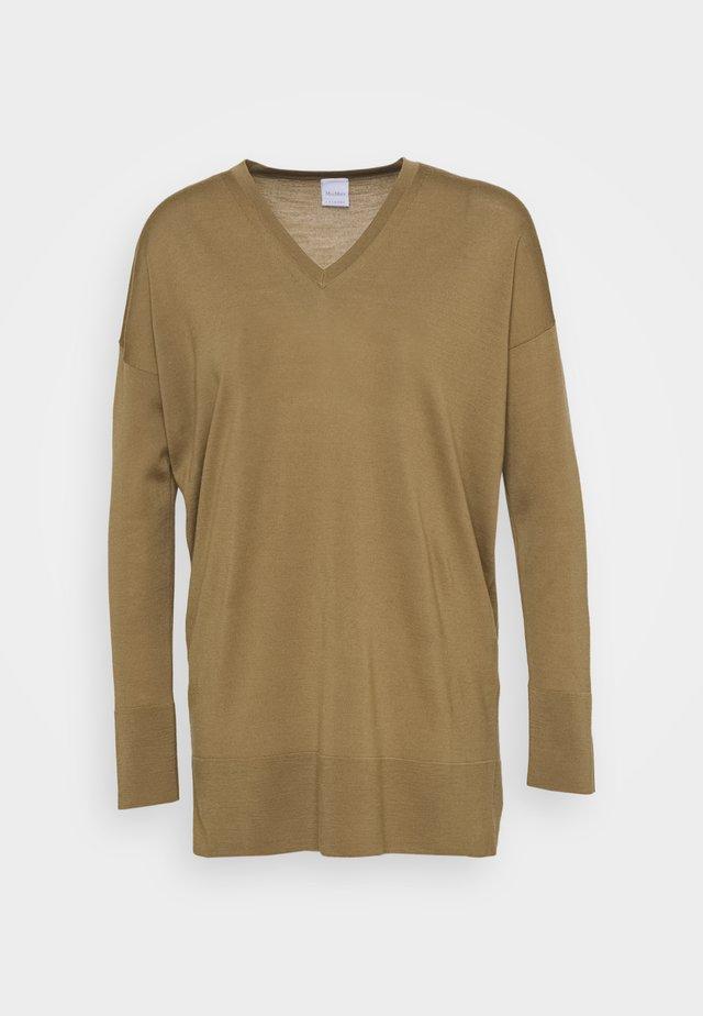 AMOUR - Pullover - kamel