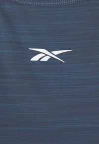 Reebok - STYLE TANK - Sportshirt - indigo - 2