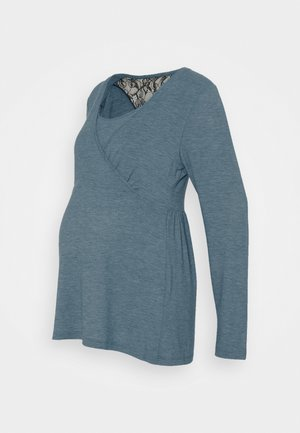 MLARTUR TESS - Longsleeve - mallard blue