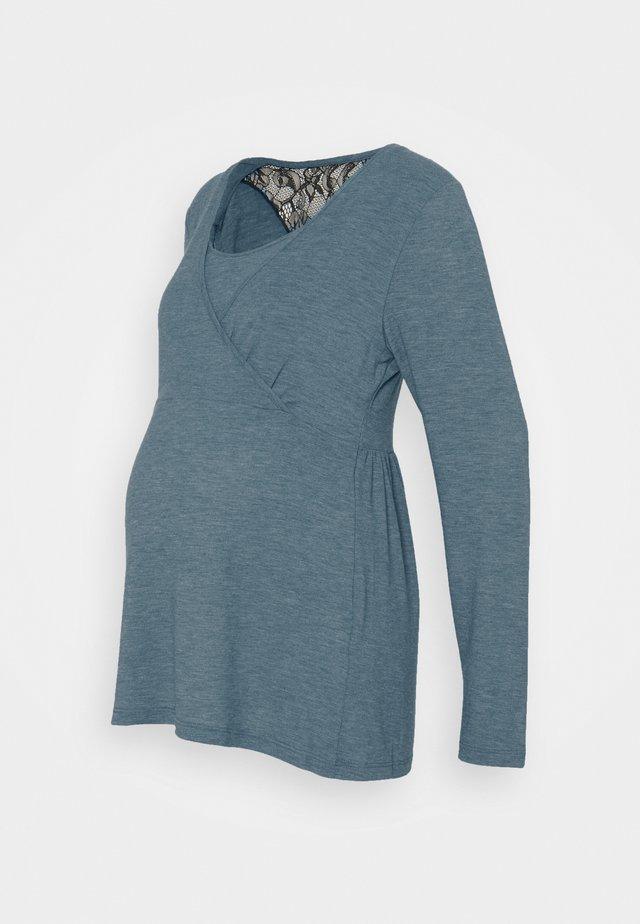 MLARTUR TESS - T-shirt à manches longues - mallard blue