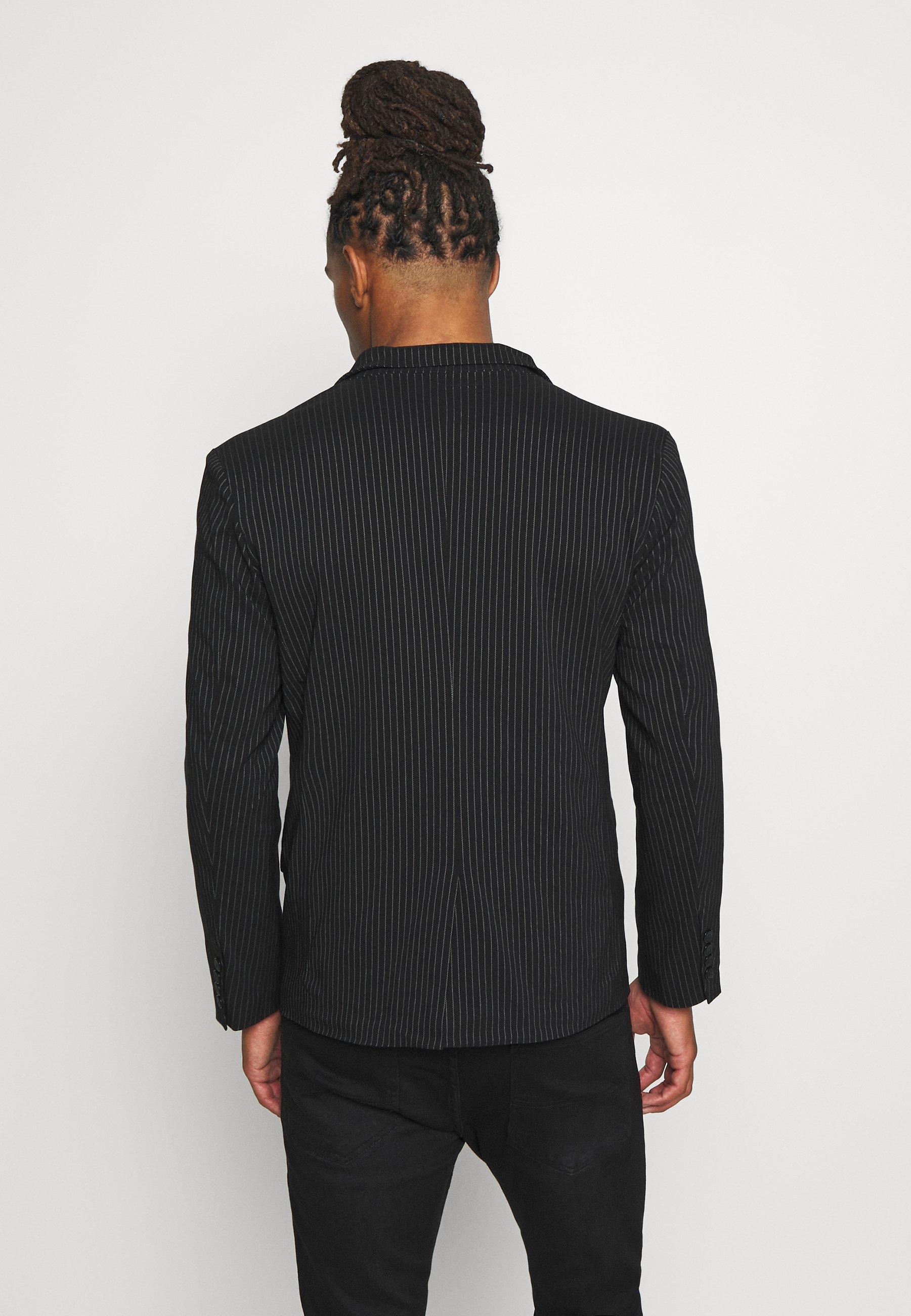 Anbefaler Billigt Nyt Og Mode Tøj til herrer Brave Soul BUCK Jakkesæt blazere black cNGfLv 8sj1Id
