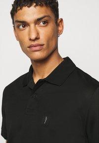 Neil Barrett - TRAVEL ENAMEL BOLT BADGE - Poloshirt - black/silver - 3