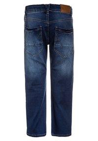 Name it - NKMRYAN PANT  - Straight leg jeans - dark blue denim - 1