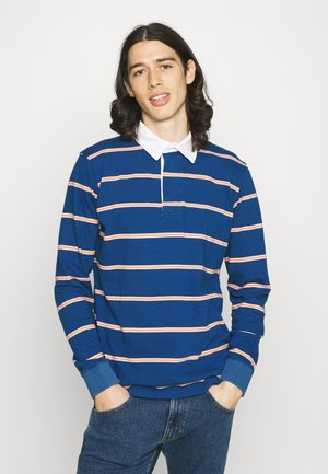 BENITO RUGBY OPTIC STRIPE - Polo - ensign blue