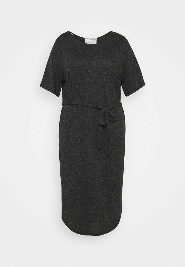 SLFLIVY BEACH DRESS CURVE - Denní šaty - black