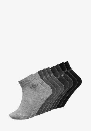 9 PACK - Strumpor - grey combo