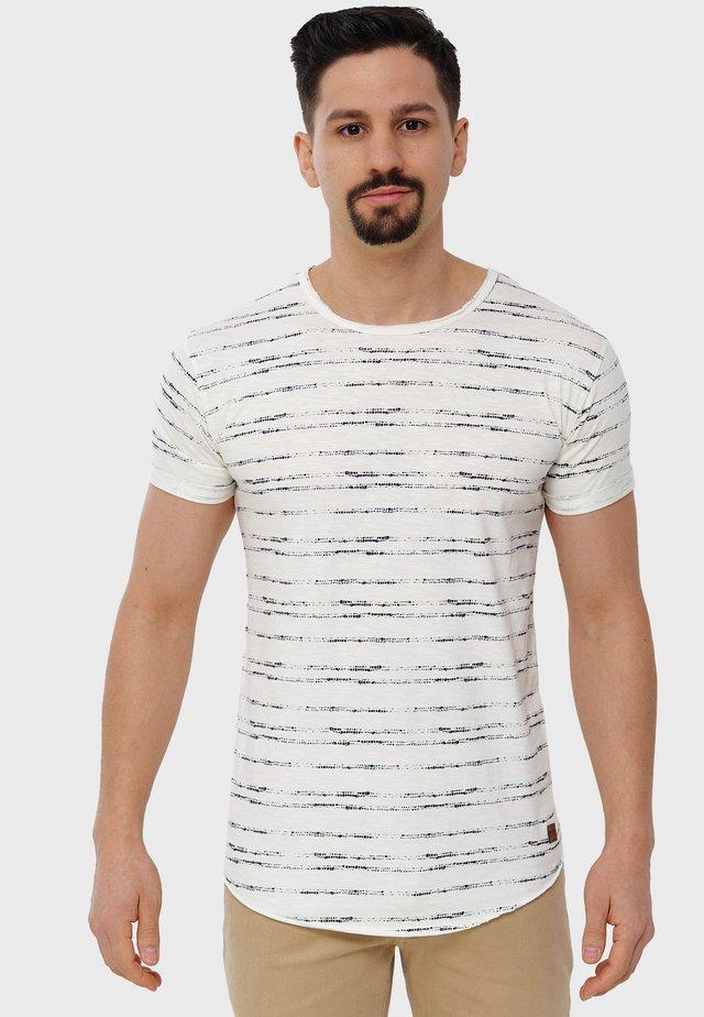 Print T-shirt - marshmellow