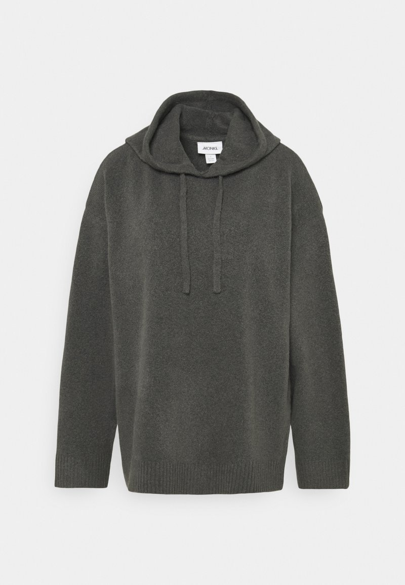 Monki - MARY HOODIE - Jersey con capucha - grey dark