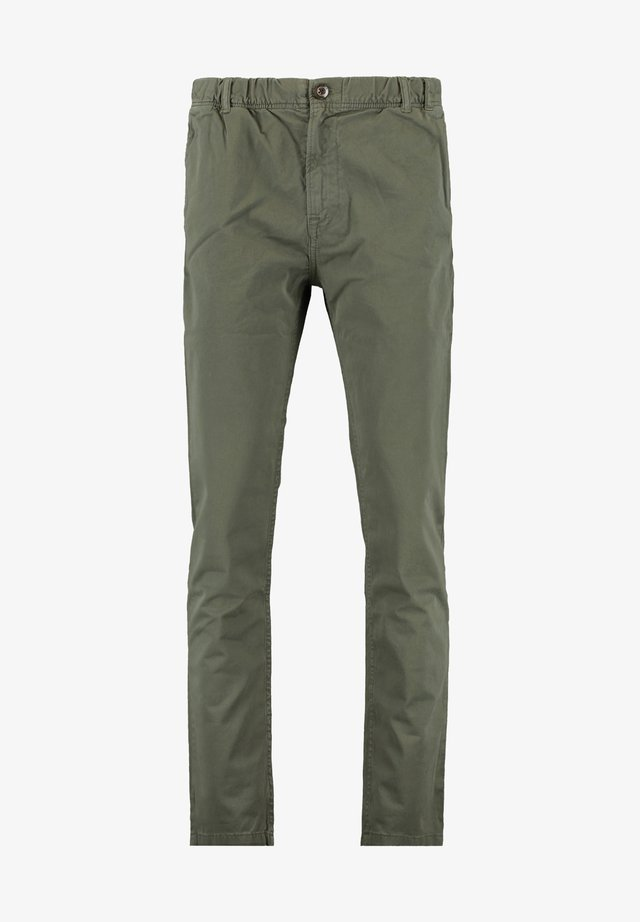 PAXON - Trousers - leaf