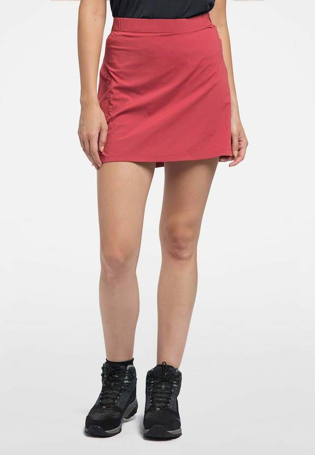 LITE SKORT - Sports skirt - brick red