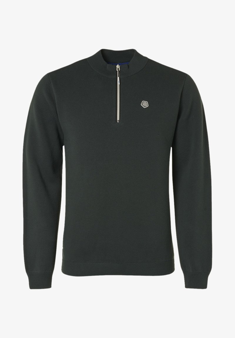 Qubz - Sweater - dark bottle
