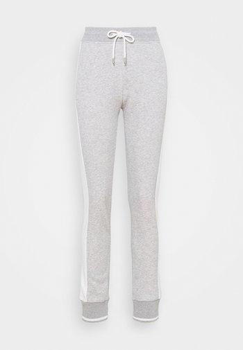 PANTS - Tracksuit bottoms - light grey melange