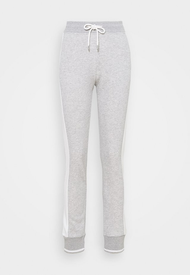 PANTS - Pantalones deportivos - light grey melange