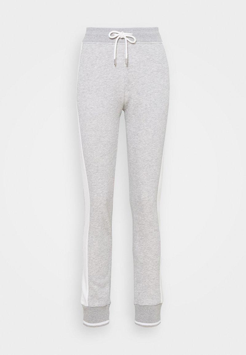 GANT - PANTS - Tracksuit bottoms - light grey melange
