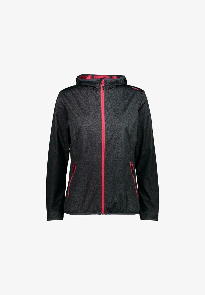 CMP - Soft shell jacket - asphalt-nero
