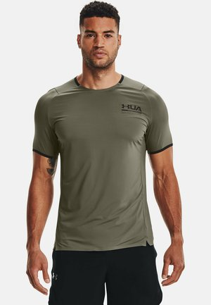 PERFORATED SS - Print T-shirt - victory green