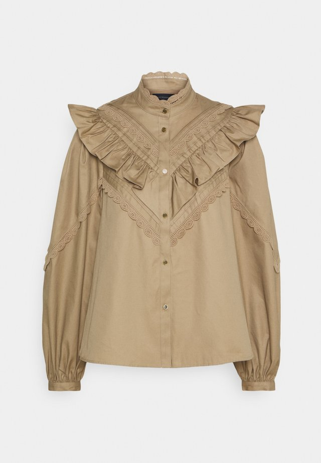 ROMANTIC MILITARY SHIRT - Skjorta - sand
