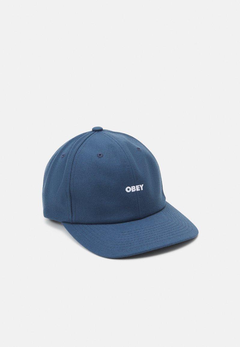 Obey Clothing - SERGE PANEL STRAPBACK UNISEX - Lippalakki - dark blue