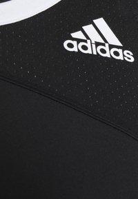 adidas Performance - CLUB TANK - Treningsskjorter - black/white - 2