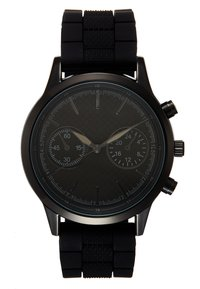 Pier One - SET - Reloj - black/cognac - 2