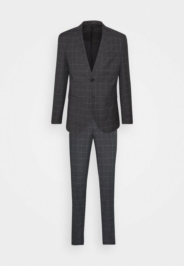 JPRBLAFRANCO MIX SUIT - Costume - dark grey