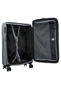 Stratic - FLOATING - Wheeled suitcase - stone grey - 4