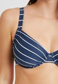Esprit - NELLY BEACH UNDERWIRE - Bikini top - dark blue - 6