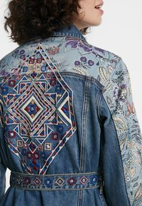Desigual - MEMPHIS - Denim jacket - blue - 4