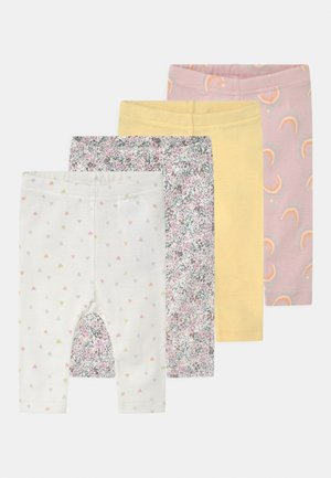 NBFFALUNA 4 PACK - Leggings - Trousers - yellow