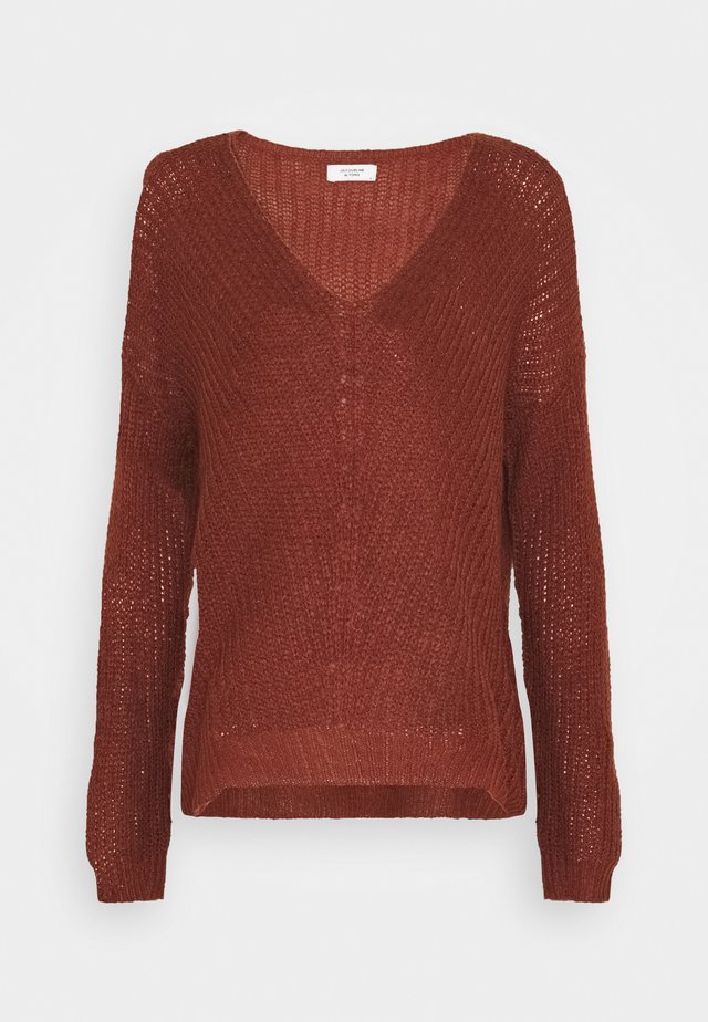 JDYNEW MEGAN - Strickpullover - red