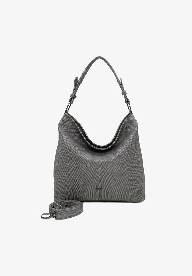 Shopper - dark stone