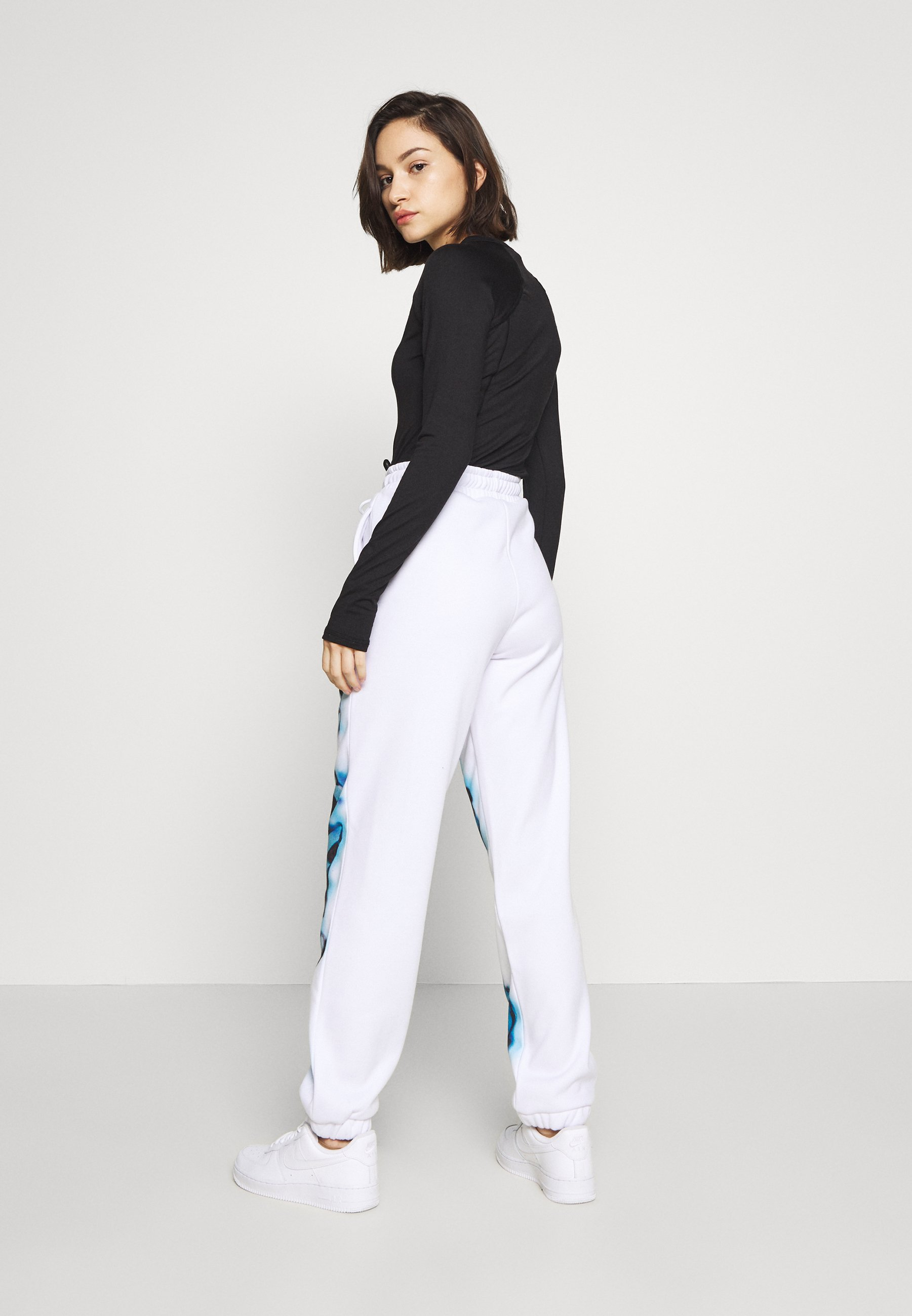 Women NOT YOUR PRINT JOGGERS - Tracksuit bottoms