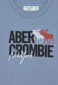 Abercrombie & Fitch - LOGO - T-shirt con stampa - blue - 2
