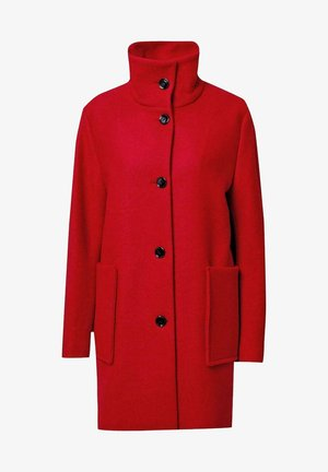 Classic coat - bright red