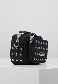 Versace Jeans Couture - STUDDED CAMERA - Across body bag - black - 4