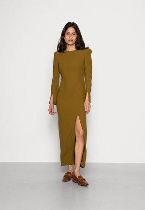 OLIANA CUT OUT DRESS - Vestito estivo - green olive