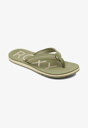 VISTA III - Sandály s odděleným palcem - amazon green