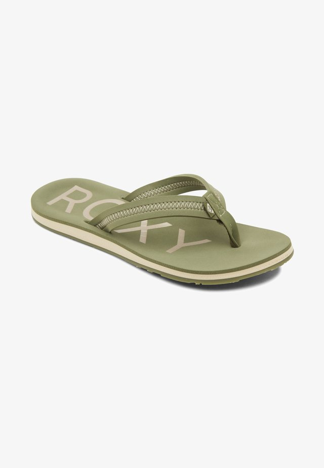 VISTA III - Sandalias de dedo - amazon green