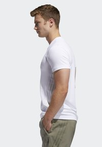 adidas Performance - AEROREADY 3-STRIPES  - T-shirt basic - white - 3