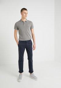 BOSS - REGULAR FIT - Kalhoty - dark blue - 1