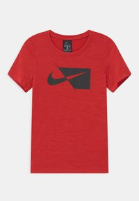 Nike Performance - Print T-shirt - university red/black - 0