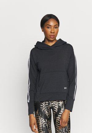 RIVAL TAPED HOODIE - Sweat à capuche - black