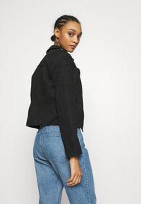 JDY - JDYPEACH BIKER - Faux leather jacket - black - 2